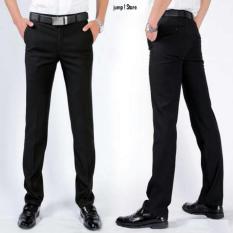 Celana Panjang Slimfit Hitam/Kerja/Kantor/Formal/Slimfit Pria
