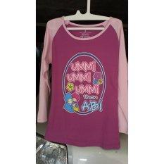 Charly Kaos Anak Perempuan / Baju Anak Muslim 03 - Multicolour