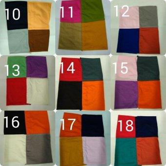 ... Bandana Mix 3 Warna Random Get 3 Pcs Harga ... - k2292 Dress Maxi Gamis Kaftan Mysha Longdress Batik Jumbo Wanita termurah. Source · Ciput 4 In 1