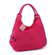 Classic Kipling Style Women's Canvas Handbag (Red)