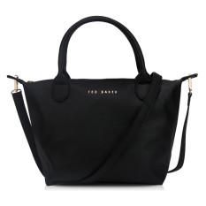 Classic Ted Baker Women's Handbag PU Waterproof Shoulder Bag(black)