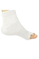 Comfy Toes Foot Alignment Socks Open-toe Socks Keep-fit Massage Socks For Men & Women Beige