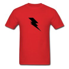 CONLEGO Personalize Men's Cool Lightning T-Shirts Red