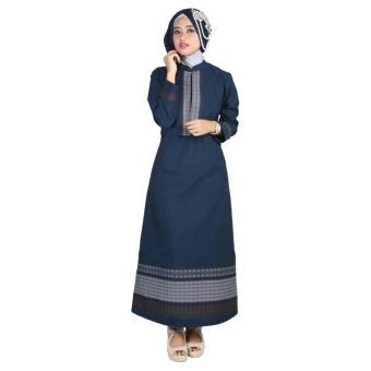 ( Couple ) Raindoz Pakaian Muslim Sarimbit Wanita RGSx039 Biru