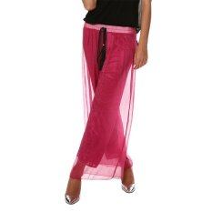 Cyber New Fashion Women's Sexy Casual Loose High Waist Solid Wide Leg Pants (Wine Red) (Intl)