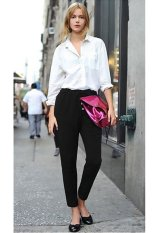 Cyber New Spring Autumn Loose Harem Pants Trousers Women Ladies Empire Waist Pants (Black) (Intl)