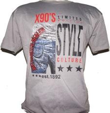 Cyl Kaos X90's Distro Style Culture - Abu-abu