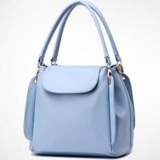 DD Mall 2016 New Bucket Bags Women Handbags Pu Leather Blue Crossbody Shoulder Bags Ladies Tote Bag Bolsa Feminina High Quality DAAQHZ (Color:As First Picture) - intl