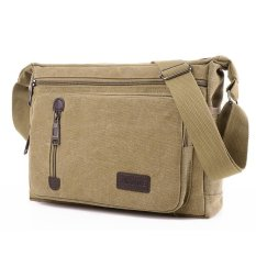DD Mall Hot Sales High Quality Canvas Crossbody Bag Multifunction Zipper Messenger Bag Shoulder Bag Large Capability Satchel DACXK8 (Color:As First Picture) - intl