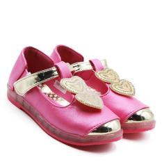 Dea Sepatu Anak Perempuan Flat 1609-360 - Peach Size 26-30
