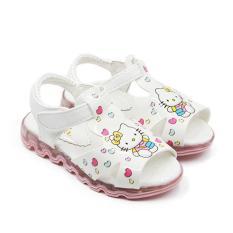 Dea Sepatu Sandal Anak LED 1611-137 - White Size 26-30