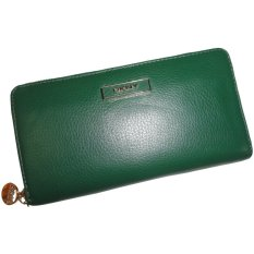 Dkny Womens Soft Ego Leather Wallet with Plaque Spruce IFS000131736 (Intl)
