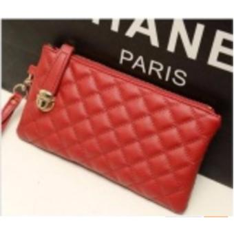 Dompet Wanita Kulit Korean Style Fashion Merah