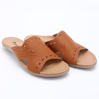 Dr. Kevin Women Flat Sandals 27284 Tan