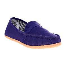 Dr. Kevin Women Flat Shoes Slip On 5306 Blue