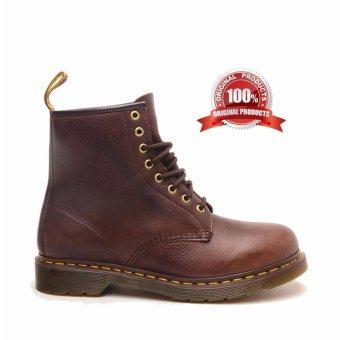 Dr. Martens 1460 8-Eye Boot - Sepatu Pria - Coklat Tua