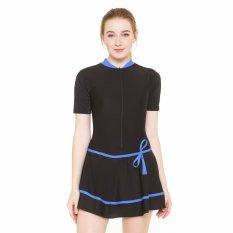 Edora Sport Baju Baju Renang Dewasa HDR-1106-Hitam