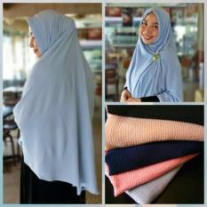 Eiko - Khimar hijab instant SHAFIRA by HAMIDA - Light Grey