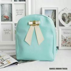 EL PIAZA Mini Ransel Backpacks Ribbon Ransel Mini Ransel Lucu Tas Ransel Sling Bag Tas Slempang
