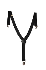 Elastic Suspender Belt for Overall (Black) - intl