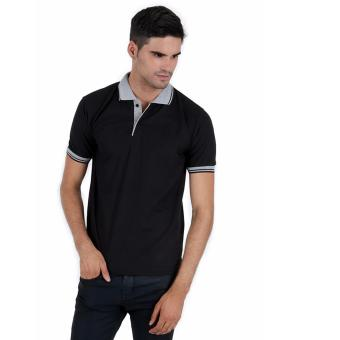 Elfs Shop - Poloshirt Neck - Hitam