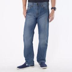 Emba Jeans Celana Panjang Pria BS 08.1 Jordan Regular - Heavy Stone Medium