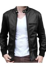 EM'S Jaket Kulit Sk21 Series Exclusive - Fullblack