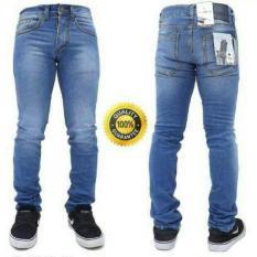 ERDS Celana Jeans Pria Skinny Premium Bioblitz Scrub