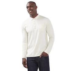 Esprit Cotton-Jersey Polo Shirt - Ice
