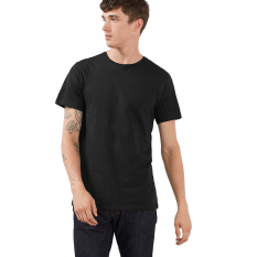 Esprit Jersey Round Neck T-Shirt, 100% Cotton - Black