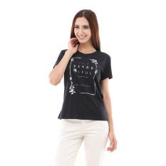 Esprit T-Shirts Short Sleeve - Hitam