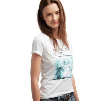 Esprit T-Shirts Short Sleeve - White