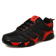 ESSAN Men Shoes Breathable Sports Shoes Men's Casual Fashion Sneakers (Red) (Intl)