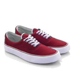 Everflow Sepatu Sneakers Pria 3382- Merah