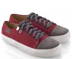 Everflow TE892 Sepatu Sneaker Wanita - Canvas - Tpr - Gaul Dan Keren - Maroon