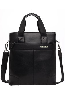 Explosion Portable Shoulder Messenger Bag (Black)
