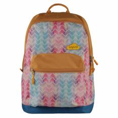Exsport Backpack Geometric - Camel