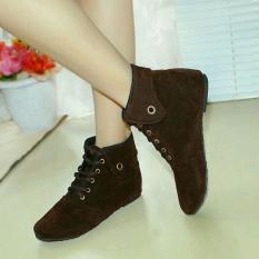 Fasahaya Sepatu Boots Wanita SBT01 Cokelat