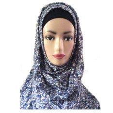 Fashion Bazaar Aleyda Hijab Long Syria Floral
