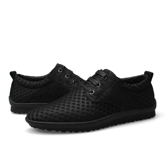 Fashion Breathable Hole Men Shoes, Big Size High Quality Men Casual Shoes