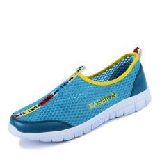 Fashion Breathable Mesh Sport Men Low Cut Sneakers