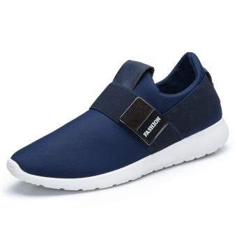 Fashion Casual Shoes Men New Arrival Korean Shoes (Blue)