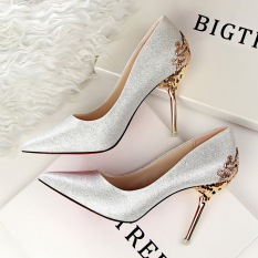 Fashion High-Heeled Shoes Woman Pumps Sexy Thin Heels High Heels Suede Pointed Toe Women Shoes Closed Toe Ladies Wedding Shoes