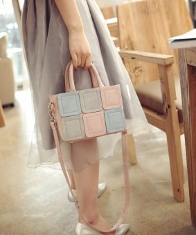 fashion korean bag - tas wanita import pink - best seller