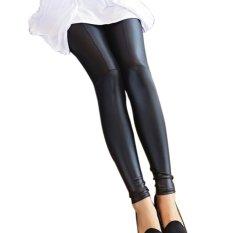 Fashion Leatherette Leggings