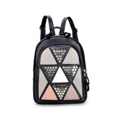 Fashion Lidwina Bags Korean Style - Tas Wanita Import Best Seller - Ransel Hitam