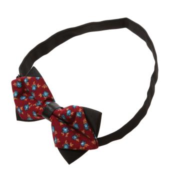 Fashion Men Wedding Bowtie Novelty Tuxedo Necktie Bow Tie Adjustable 11 - Intl