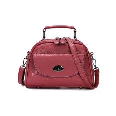 Fashion New Korean Handbags Solid Shell Shoulder Bag Handbags Women Night Club Satchel Bags - Intl