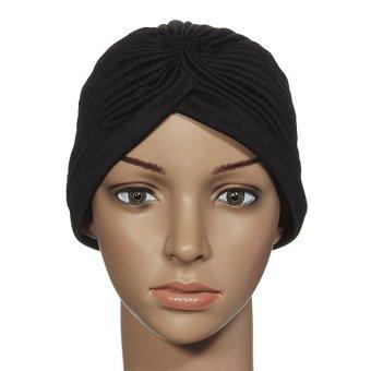 Jual Fashion Wanita Topi Bungkus Permen Warna Sorban Elastis Bando Topi  Kupluk Lipit India Tidur - 2069c9db78
