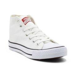 Faster Sepatu Sneakers Kanvas Cowok 1603-02 - Putih